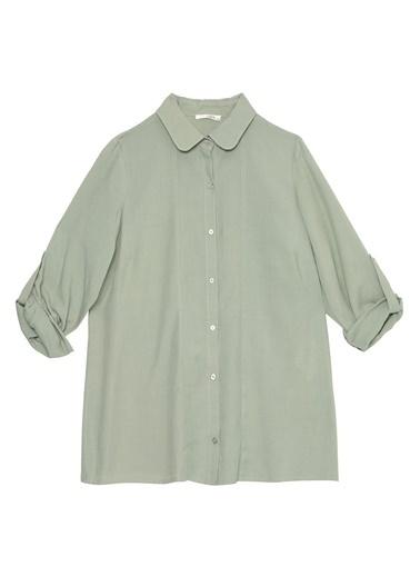 Selen Bluz Yeşil